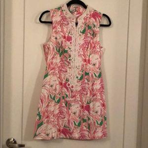 Lilly Pulitzer Pink Colony Alexa Shift Dress